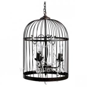 Светильник Птичья клетка в стиле Прованс, Винтаж