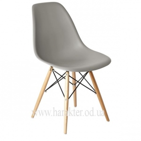стул пластиковый Прайз серый КД