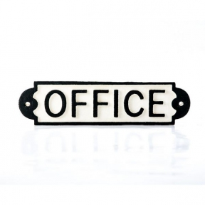 Ретро вывески, таблички для офиса OFFICE арт