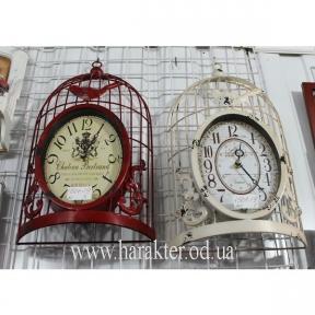 часы настенные в виде клетки