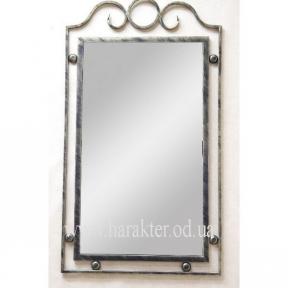 Зеркало кованое №3