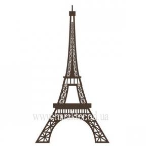 Декоративная Наклейка на Стену Eiffel Tower, виниловый стикер Эйфелева башня