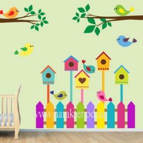Декоративная Наклейка Детская Nesting Box