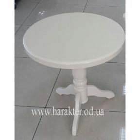 столик чайный Берн дерево цвет белый ЕС