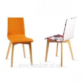 стул Лука софт RW (рама бук) с мягкой сидушкой, деревянный каркас