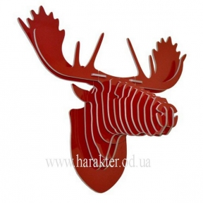 Охотничий трофей голова лося, настенный декор