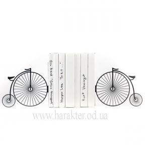 держатели для книг Ретро велосипед