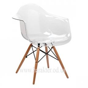 Кресло Прайз прозрачная сидушка КД