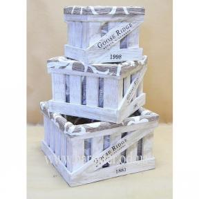 Ящики для вина №3, декоративные ящики, ящики для хранения