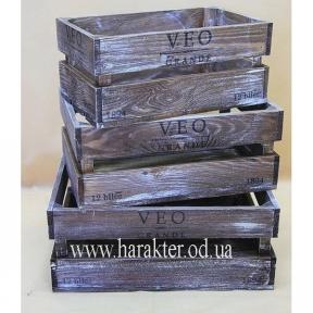 Ящики для вина №6, декоративные ящики, ящики для хранения