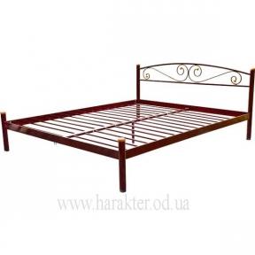 кровать двуспальная металлическая Вероника МД 1400*2000