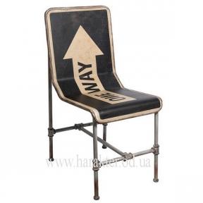 Кресло металлическое в стиле Лофт One Way
