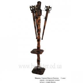 Торшер с факелами в Римском стиле