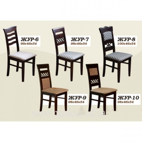 Стул деревянный ЖУР-6 (7, 8, 9, 10) ШМ