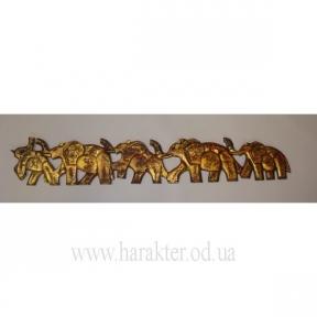 панно слоны 1 метр