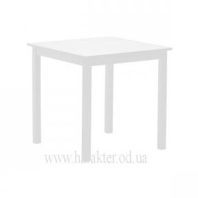 Стол обеденный Колтон деревянный (белый) КД