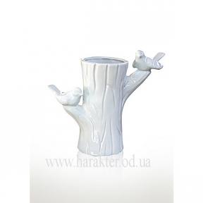 Ваза керамическая с птичками 1002-25 эк