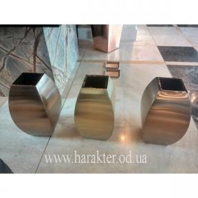 Кашпо из нержавеющей стали Vase