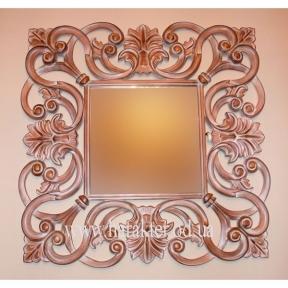 Зеркало № 3 Fiore из дерева