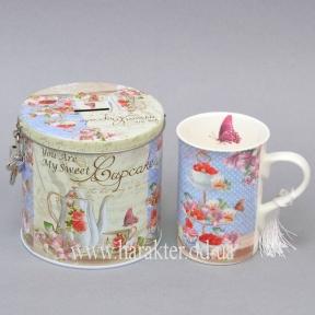 Чашка в подарочной коробке-копилке, Чашка в коробке Моя сладость CK124
