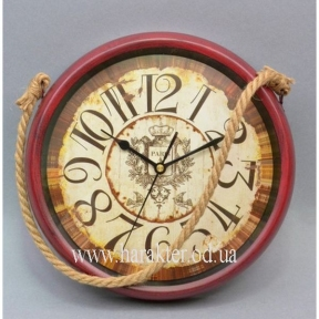 Часы металл настенные подвесные на канате T1405