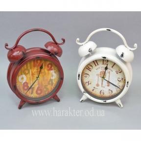 Часы - будильник XY3032 красные