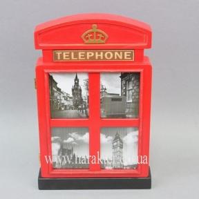 Ключница Telephone Английская телефонная будка