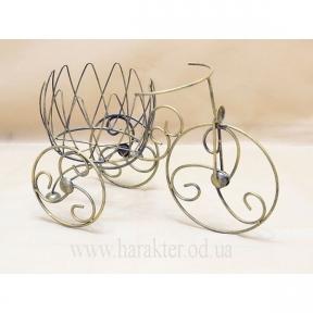 Велосипед мини Тюльпан подставка для цветов