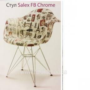 Кресло Saleх FB Chrome Paris