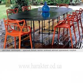 Стул Viti пластиковый для кафе, баров, летних площадок, дома