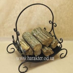 дровница для камина кованая