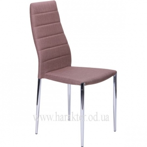 стул Астрид светло синий, коричневый