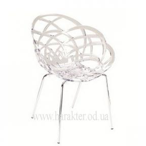 Кресло Flora ML хромированные ножки