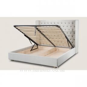 Двуспальная кровать Дженифер  с подъёмным механизмом, местом для хранения 160, 180*200