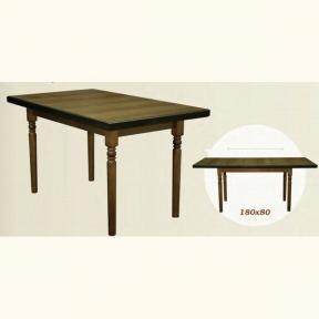 Стол для кухни, дома раскладной СТ-6 деревянный ШМ