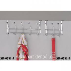Настенные и дверные вешалки на 3 или 5 крючка