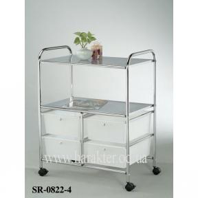 Системы хранения SR-0822-4 сервировочная тележка