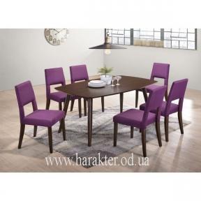 комплект стол и 6 шт. стульев Луцера