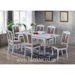 комплект 6шт стульев Мира и стол раскладной Калипсо