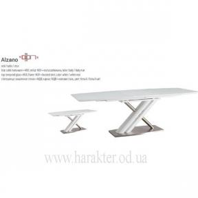 Стіл розкладний, стол раскладной стеклянный Alzano