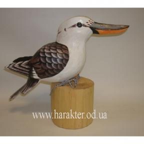 Птица Альциона из дерева