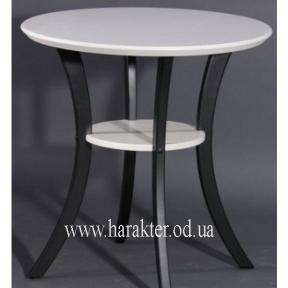 Стол Модерн ваниль старение, ножки ваниль старение (белый, ножки черные)