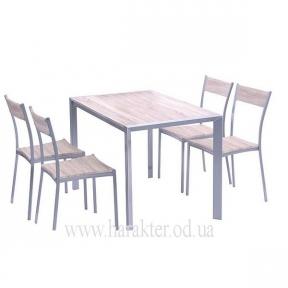 Комплект Тимьян стол + 4 стула