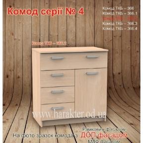 Комод серии 4 Комод ТКБ - 366.2 (800)