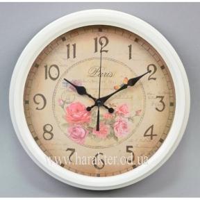 часы настенные белые 2 вида