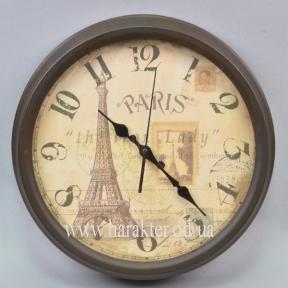 Часы настенные коричневые 3вида