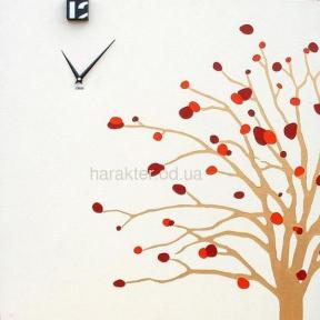 Настенные часы Дерево Гранат, часы-холст