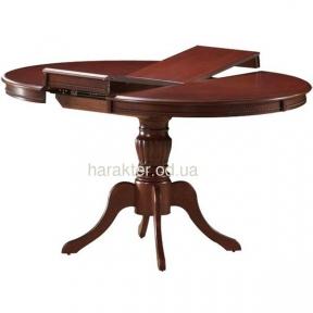 стол обеденный Анжелика V 1060 деревянный раскладной каштан КД