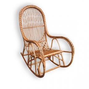 Кресло-качалка КК-4/3 с косой лоза