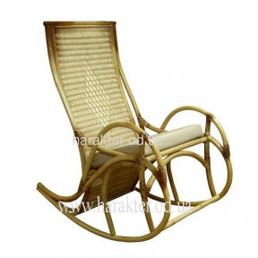 Кресло-качалка ротанговое